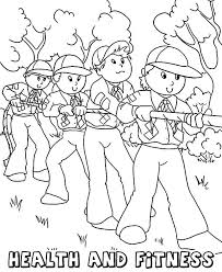 Small Picture Fitness Coloring Pages Print Color Craft