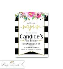 Invitation Words For Birthday Party Surprise 70th Birthday Party Invitations Image 0 Invitation