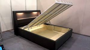 lift storage bed. Plain Storage STORAGE BED FRAME MOTORIZED LIFT FULL AUTOMATIC  MOR LALE MOBILYA  ISTANBUL TURKEY YouTube In Lift Storage Bed I