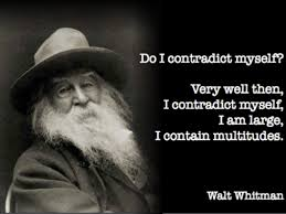 Image result for walt whitman sufficient just as i am