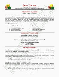 Cover Letter Preschool Teacher Cover Letters No Experience