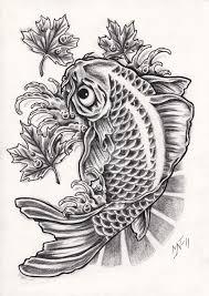 48 карточек в коллекции эскизы татуировок карпа кои пользователя