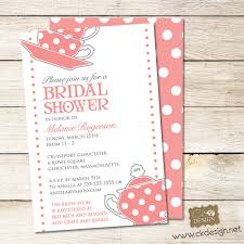 Kitchen Tea Invites Tea Party Bridal Shower Invitations Plumegiantcom