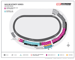 Darlington Raceway Interactive Seating Chart Maps Richmond Raceway