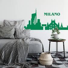 Wandtattoo Skyline Milano