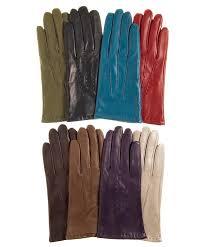 women s winter italian fleece lined lambskin gloves