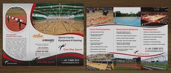 Sports Brochure Inspirational Sports Brochure Design Professional Bold For Norman 1