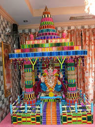 135 best ganpati decorations images