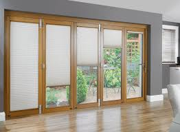 image of sliding glass doors blinds style