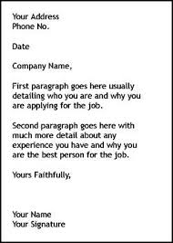 Good Cover Letter Template 19 Writing Write A Strong And Provide You