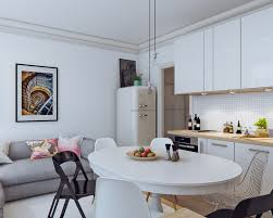 Small Apartment Living Room Interior Design Small Open Plan Home Interiors