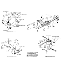 chassis layout ford bronco tech support ford bronco 78rear suspension gif