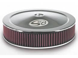 s b custom chrome air filter assemblies shop now