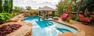 banner natural 2 backyard living starts with texas pools