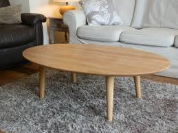 oak oval coffee table white the home redesign what kind of