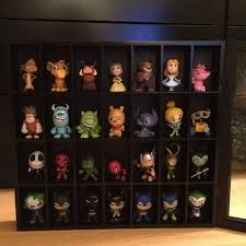 shelf for mystery mins shot glass cabinet from michaels pop vinylfunko popglass cabinetsdisplay