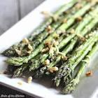 asparagus parmesan garlic spears