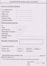 Kurs Başvuru Formu by Turgay Işık - issuu