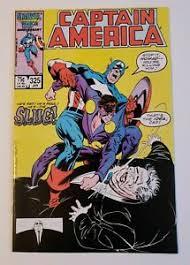 Capitán América #375 1st Completo aplicación de slug y Priscilla Lyons  Marvel Comics 1987 | eBay