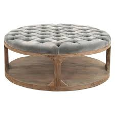 cushioned coffee table table coffee table tufted ottomans ottoman rectangle yellow with regard to cushioned coffee