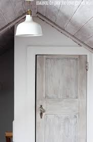 white wood door. How To Whitewash A Door: Bring Texture And Beauty With This Step-by- White Wood Door
