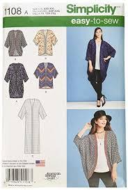 Simplicity Kimono Pattern
