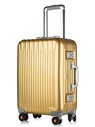 Amazon.com | All <b>Aluminum</b> Carry On, HardShell <b>Luggage</b> Grade 5 ...