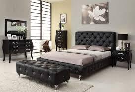 Mirrored Headboard Bedroom Set Mirrored Bedroom Set Furniture Wood Parquet Floor Under Ceiling