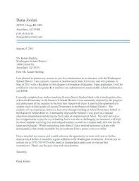 Elementary Education Cover Letter Elementary Teacher Cover Letter