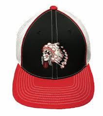 Embroidered Warrior Flat Bill Cap
