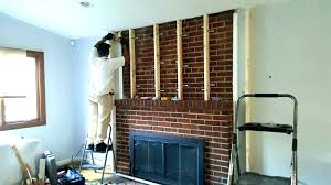 installing tv above fireplace over fireplace installation