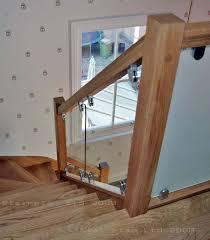 oak vision glass barade panels