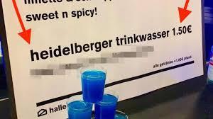 Heidelberg Lustige Posts Auf Social Media Zu Verunreinigtem Wasser