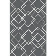 korhani studio azufre 5 ft x 7 ft grey geometric outdoor rug lowe s canada