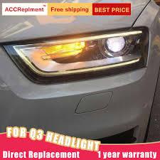 Audi Q3 Fog Lights How To Turn On 2pcs Led Headlights For Audi Q3 2013 2015 Led Car Lights