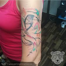 Minimalistické Tetování Brno