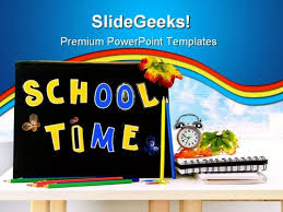 College Ppt Templates School Time Education Powerpoint Template 1110 Powerpoint