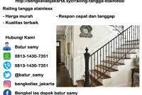 Hasil gambar untuk tangga stainless