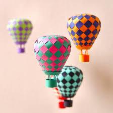 Diy Paper Craft Ballon Project