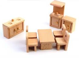 where to buy miniature furniture. Perfect Miniature Shrih Solid Wood Miniature Dollhouse Kitchen Furniture Toy Set Intended Where To Buy D