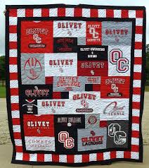2059 best Quilt - T-shirt/Tie/Memory images on Pinterest | Bebe ... & Olivet College T-shirt Quilt, Olivet Michigan T-Shirt Custom Trends Adamdwight.com