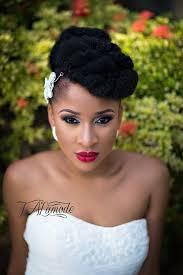 nigerian bridal makeup natural hair photos 0023