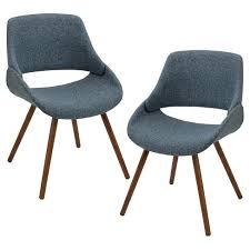 Frabrico Mid Century Modern Chair Set of 2 LumiSource Target