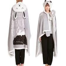 women winter coat home wear winter coat cloak woolen coat rabbit warm x long on