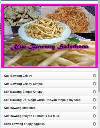 Cukup mudah dan sederhana bukan resep stik bawang renyah dan enak diatas. Aneka Resep Kue Bawang Sederhana 2018 For Android Apk Download