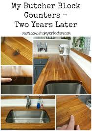 review of butcher blocks counters after two years use block countertop oil maple care my later vs mineral oil for treating butcher block countertop