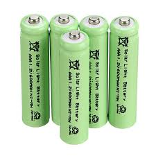 Solar Batteries For Outdoor Lights Us 5 61 30 Off Environmental Solar Battery 6 Pcs Aaa Solar Light Batteries Rechargeable 1 2v 600mah For Garden Lights In Digital Batteries From