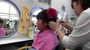 小学校卒業式 袴に似合うヘアアレンジ Youtube