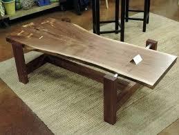 live edge walnut coffee table reddit