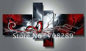 white canvas wall art black white and red canvas wall art elegant black and white abstract oil painting gallery black and white canvas wall art sets